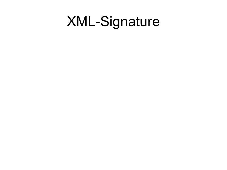 XML-Signature