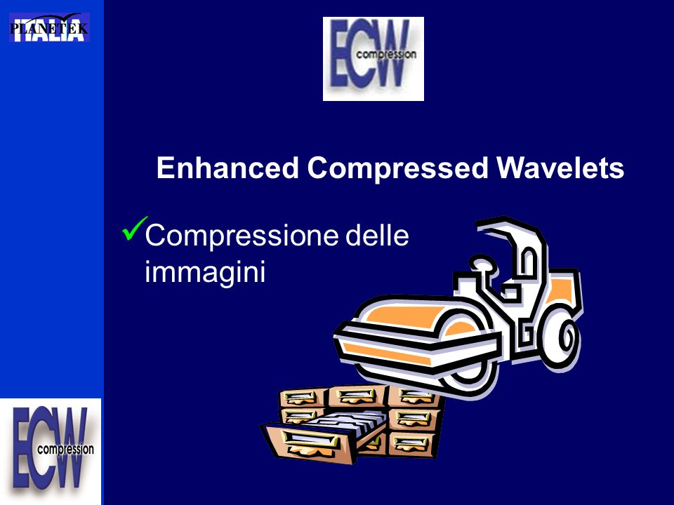 Enhanced Compressed Wavelets