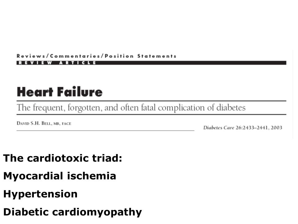 The cardiotoxic triad: Myocardial ischemia Hypertension
