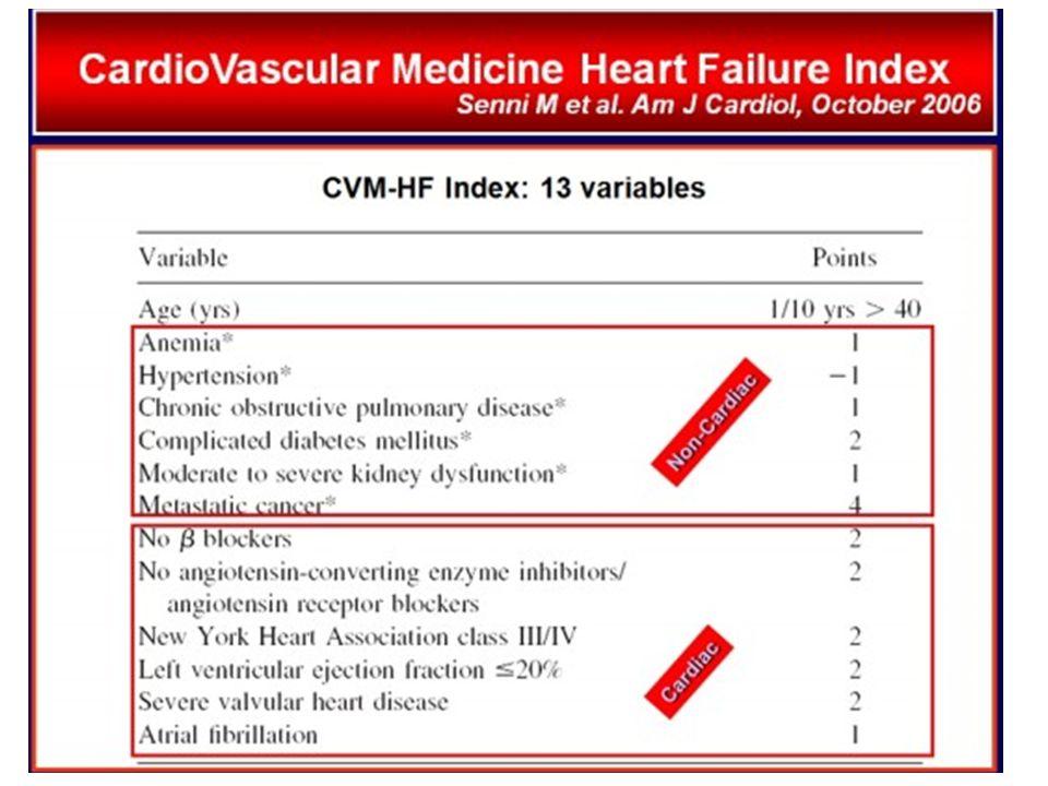 C'e' molto di non cardiaco che pesa sulla prognosi nello sc