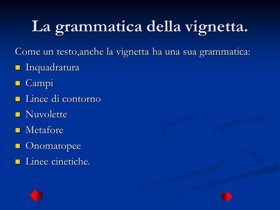 La grammatica della vignetta.