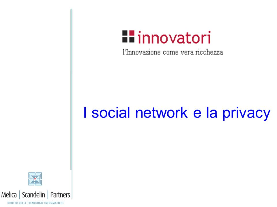 I social network e la privacy
