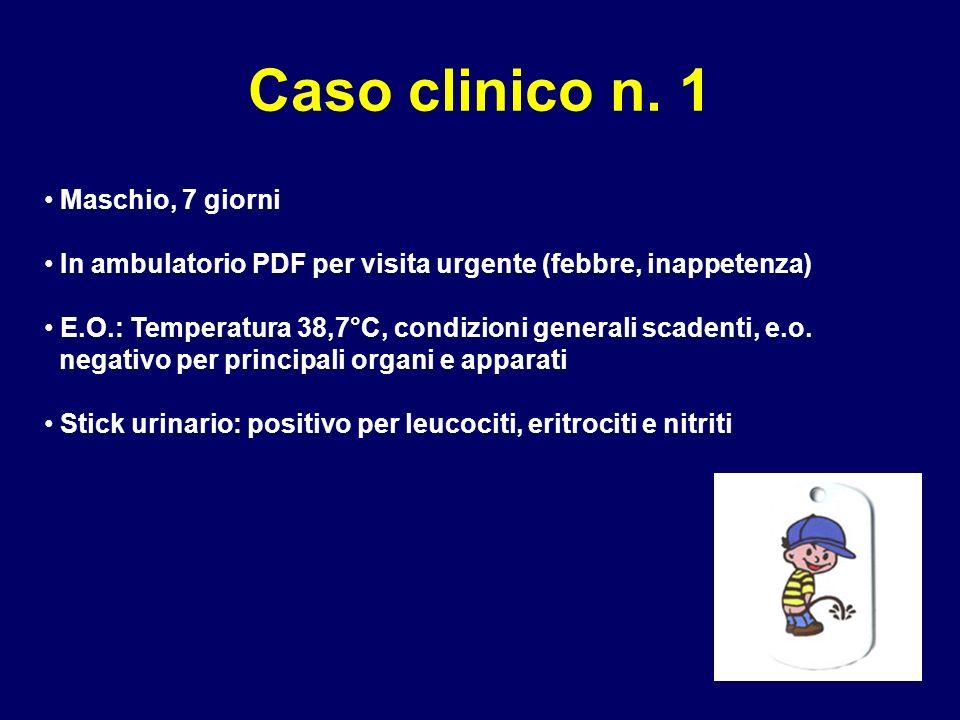 Caso clinico n. 1 Maschio, 7 giorni