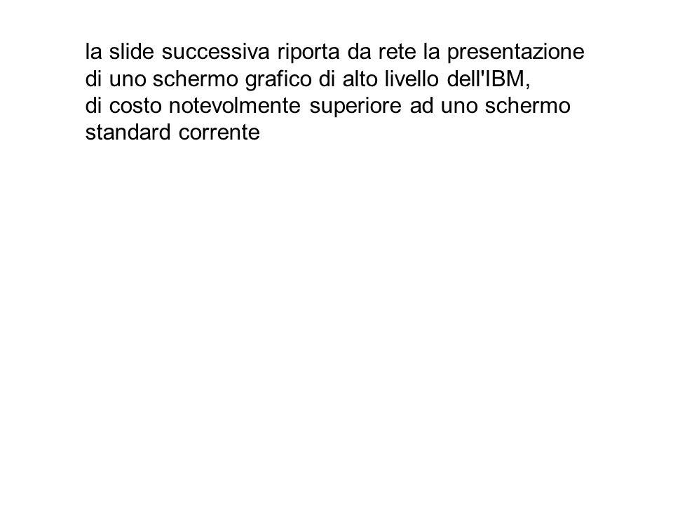 la slide successiva riporta da rete la presentazione