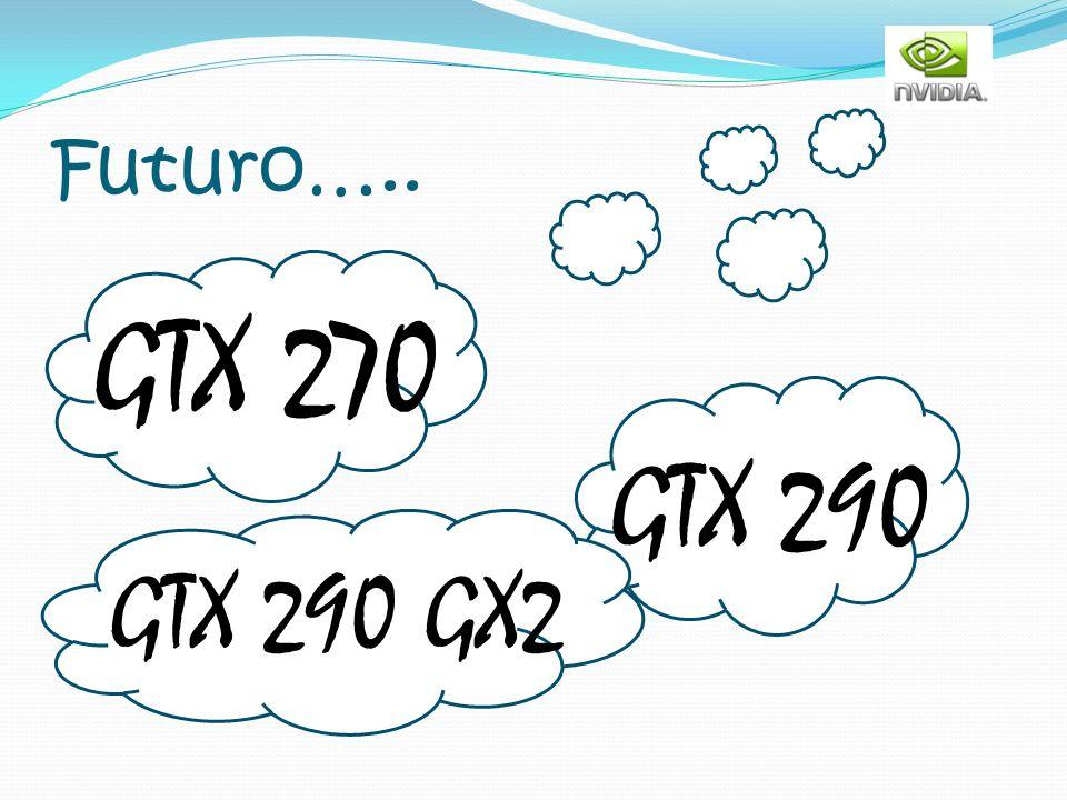 Futuro….. GTX 270 GTX 290 GTX 290 GX2
