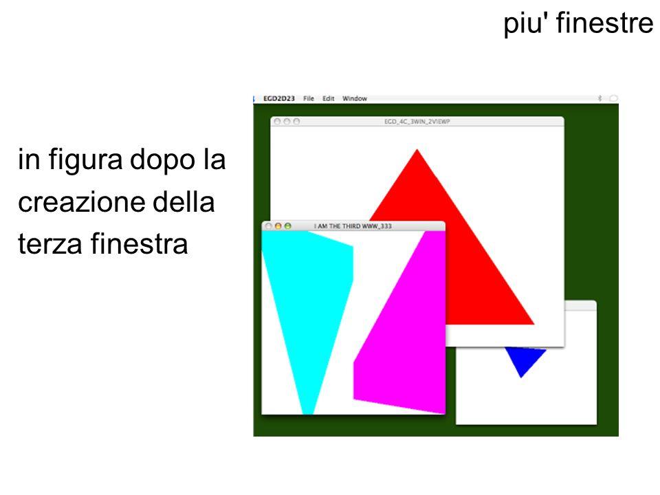 piu finestre in figura dopo la creazione della terza finestra