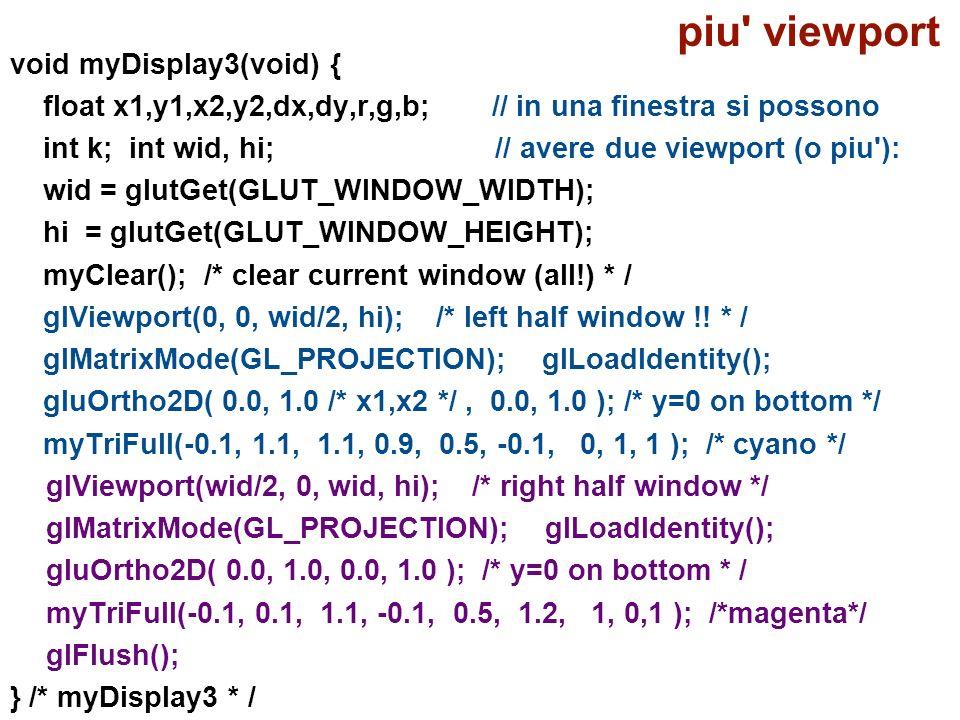 piu viewport void myDisplay3(void) {