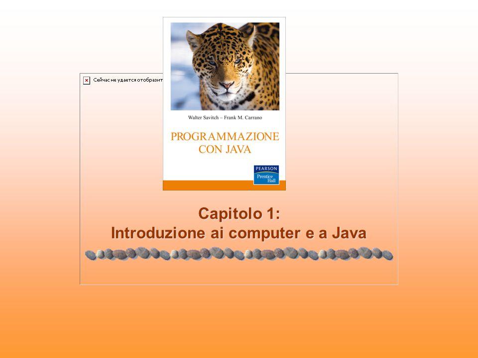 Capitolo 1: Introduzione ai computer e a Java