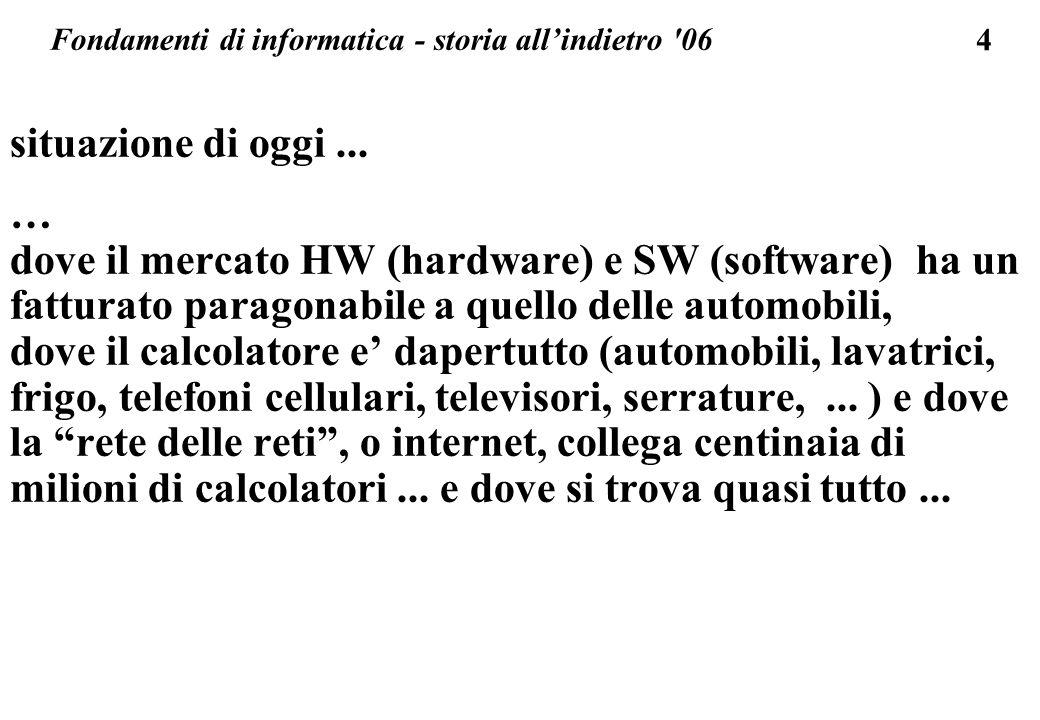 Fondamenti di informatica - storia all'indietro 06