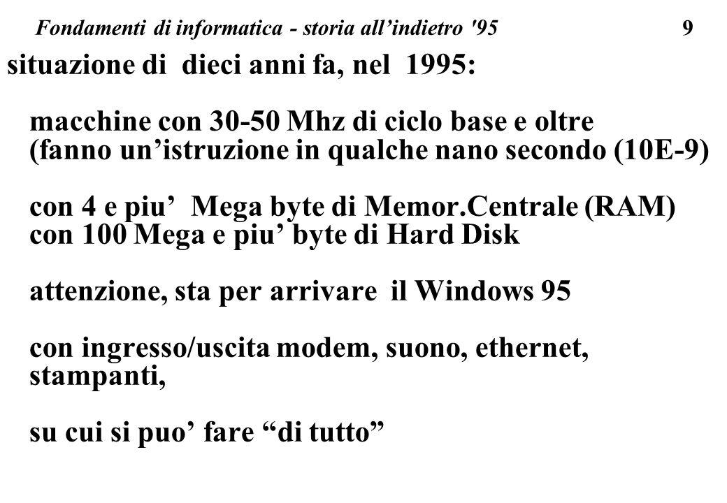 Fondamenti di informatica - storia all'indietro 95