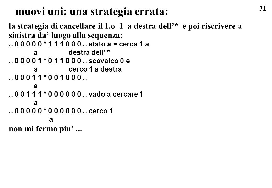 muovi uni: una strategia errata: