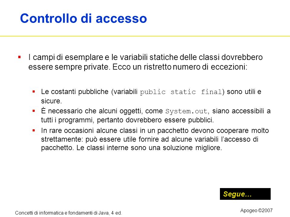 Controllo di accesso