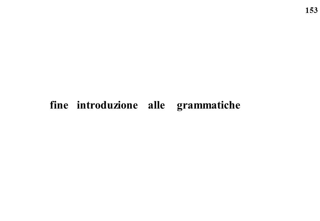 fine introduzione alle grammatiche