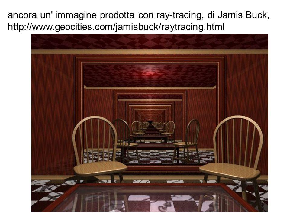 ancora un immagine prodotta con ray-tracing, di Jamis Buck,