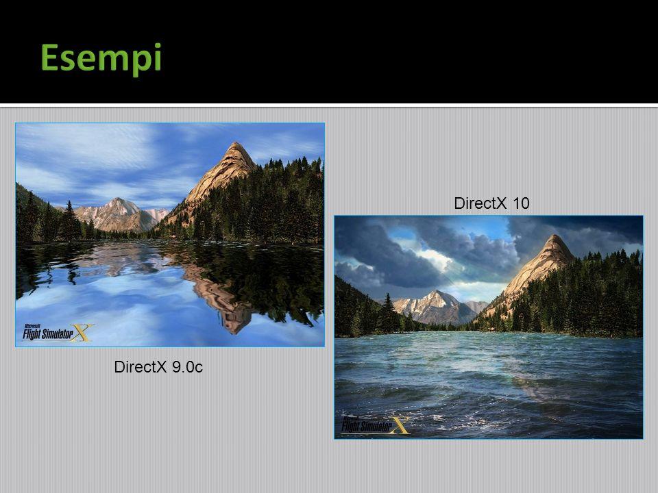 Esempi DirectX 10 DirectX 9.0c