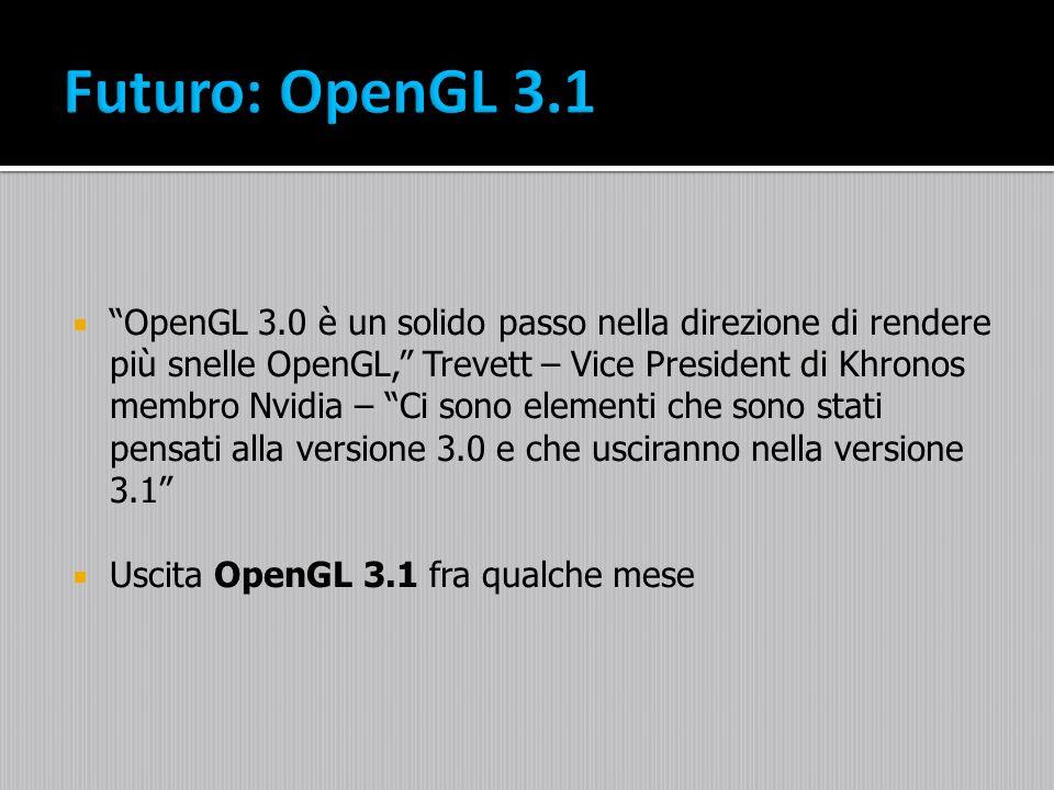 Futuro: OpenGL 3.1