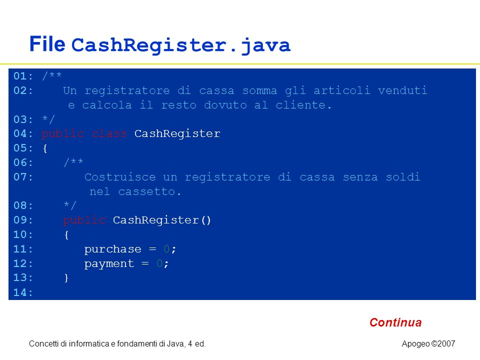 File CashRegister.java