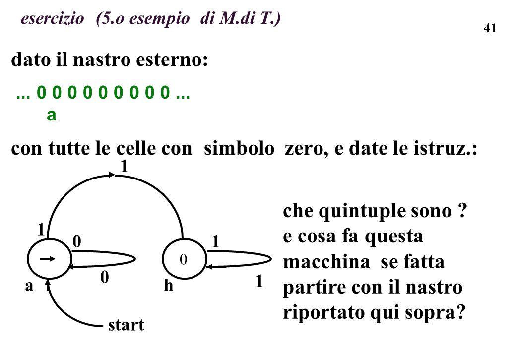 esercizio (5.o esempio di M.di T.)