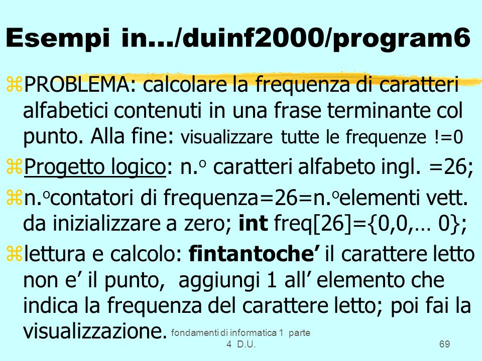 Esempi in.../duinf2000/program6