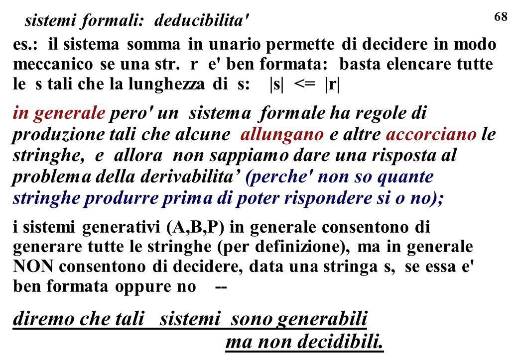 sistemi formali: deducibilita