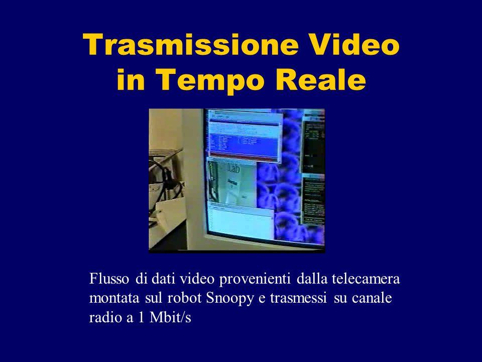 Trasmissione Video in Tempo Reale