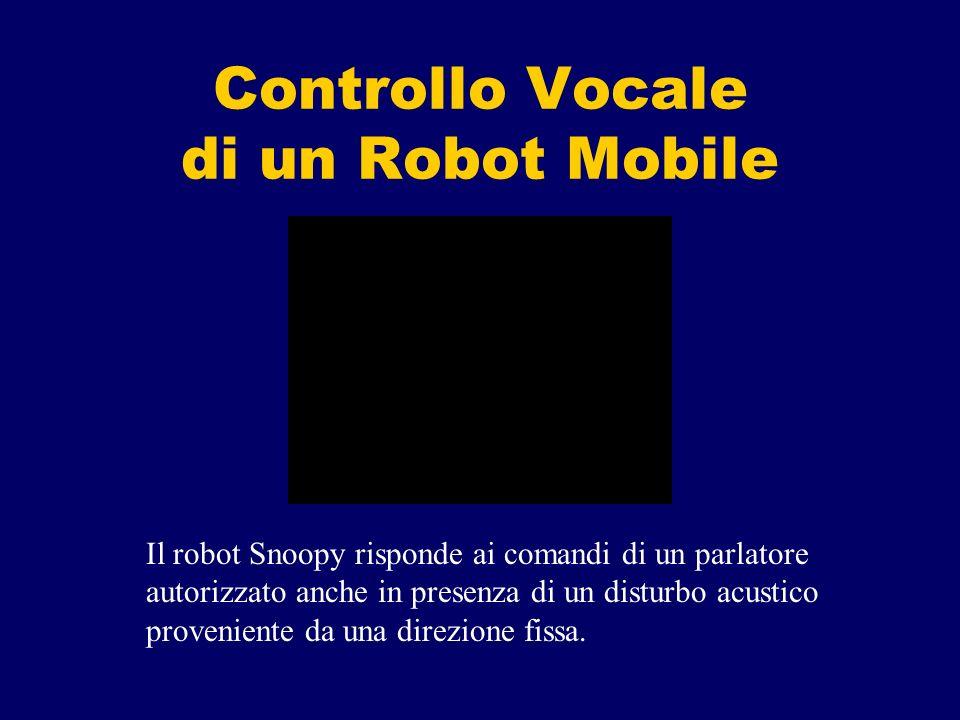Controllo Vocale di un Robot Mobile