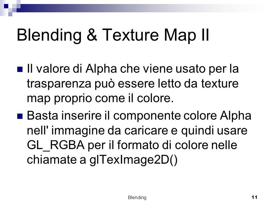 Blending & Texture Map II