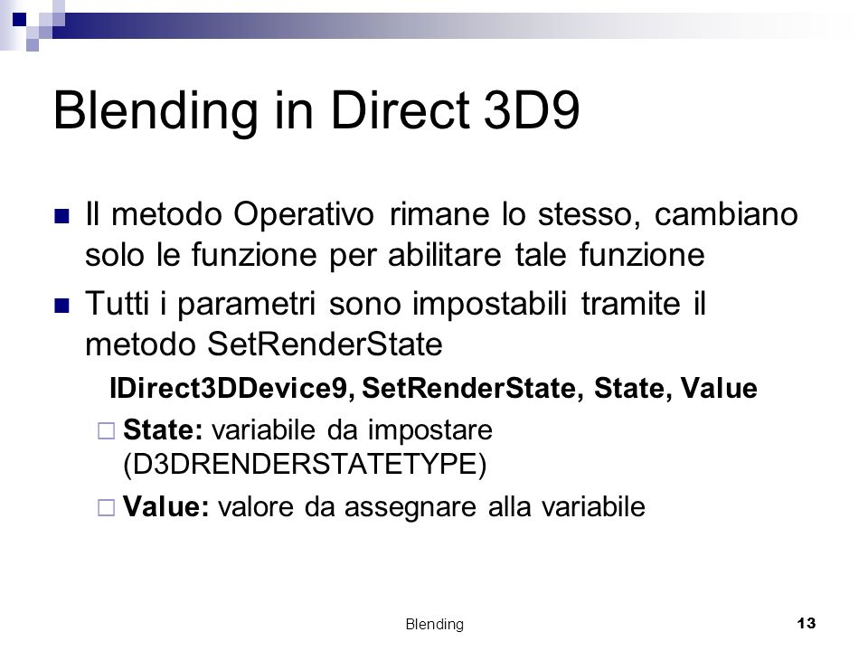 IDirect3DDevice9, SetRenderState, State, Value