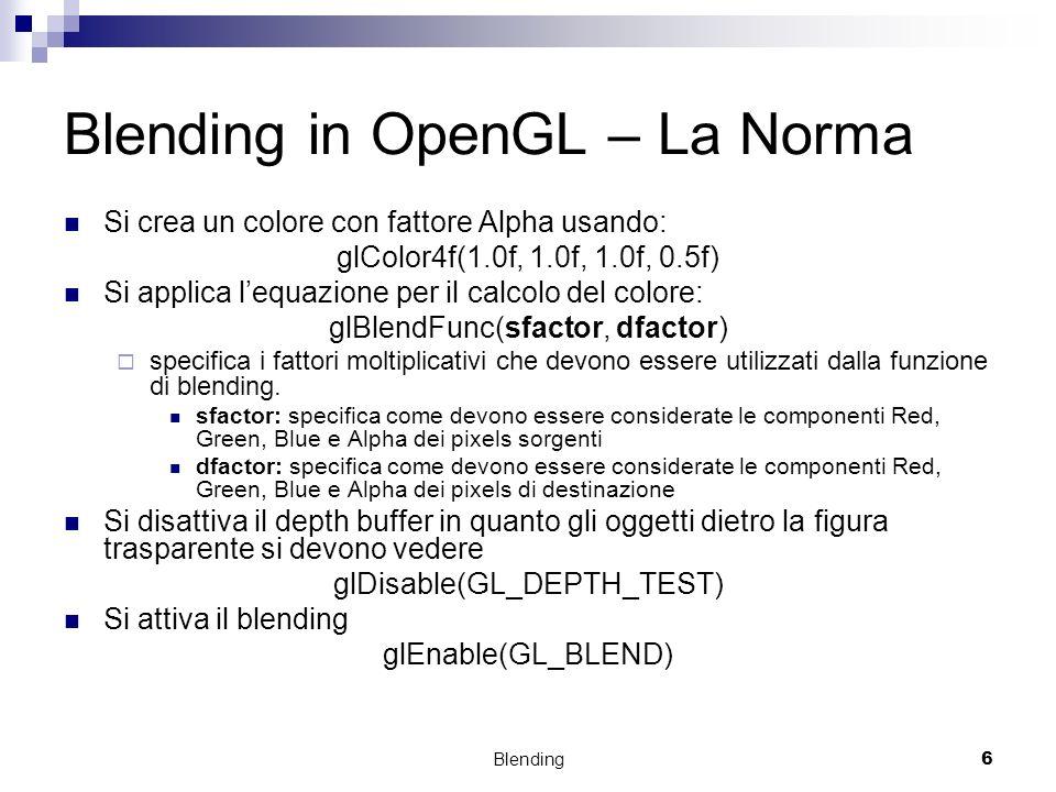 Blending in OpenGL – La Norma