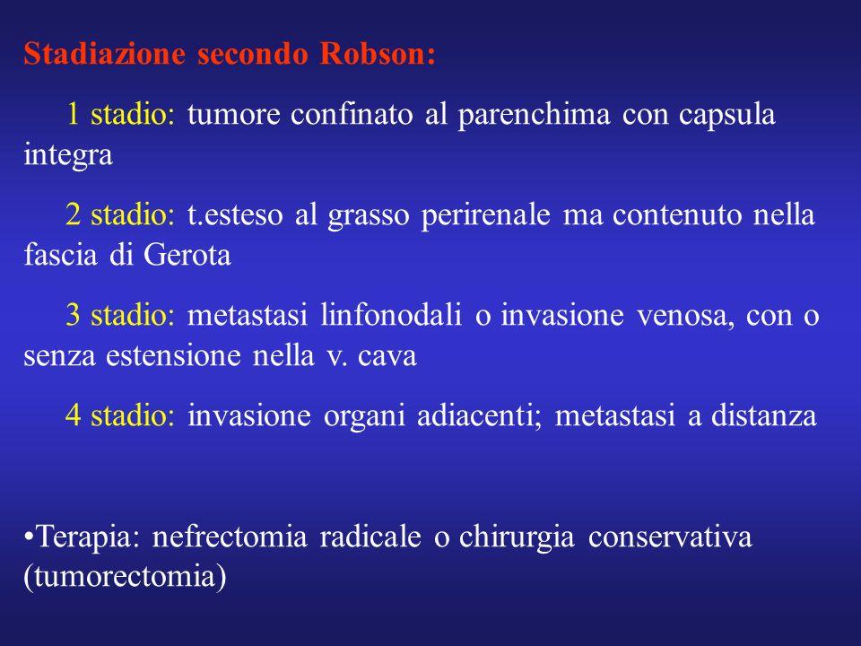 Stadiazione secondo Robson: