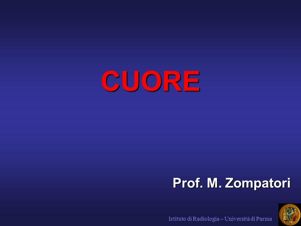 CUORE Prof. M. Zompatori Istituto di Radiologia – Università di Parma