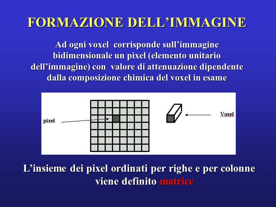 FORMAZIONE DELL'IMMAGINE