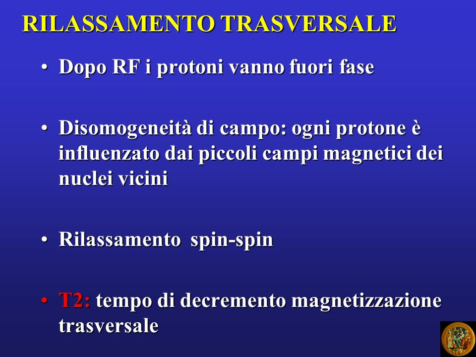 RILASSAMENTO TRASVERSALE