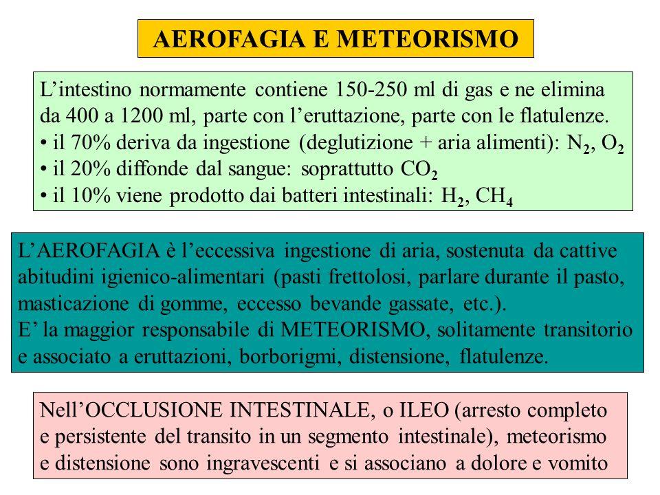 AEROFAGIA E METEORISMO