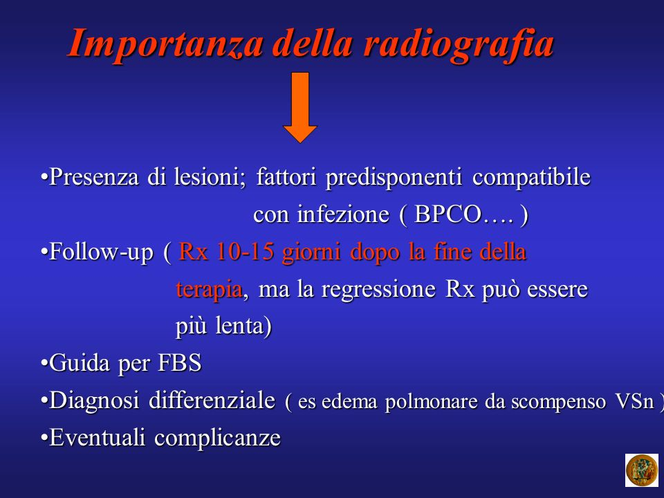 Importanza della radiografia