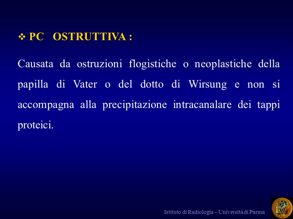 PC OSTRUTTIVA :