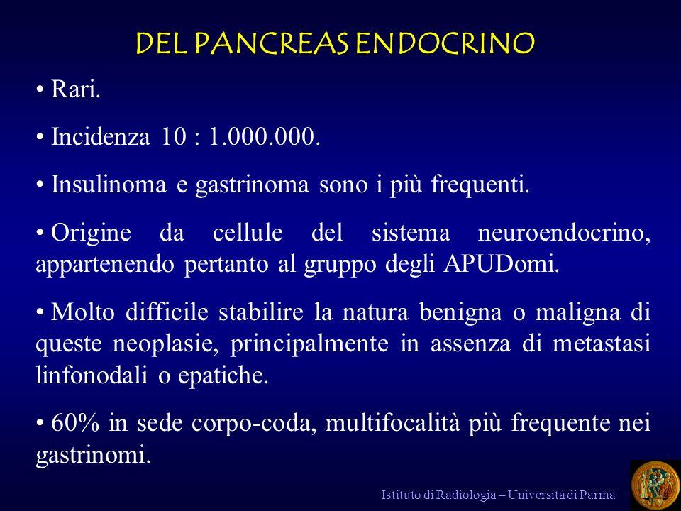 DEL PANCREAS ENDOCRINO