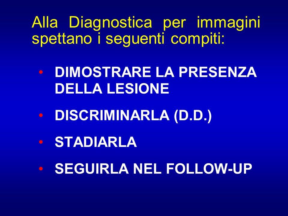 Alla Diagnostica per immagini spettano i seguenti compiti: