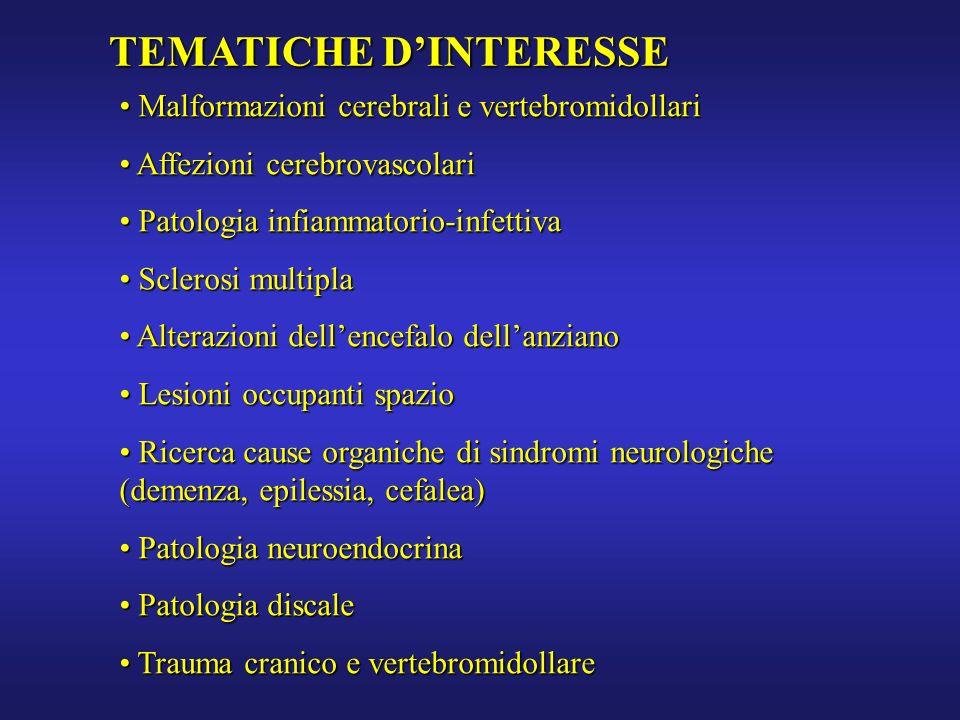 TEMATICHE D'INTERESSE