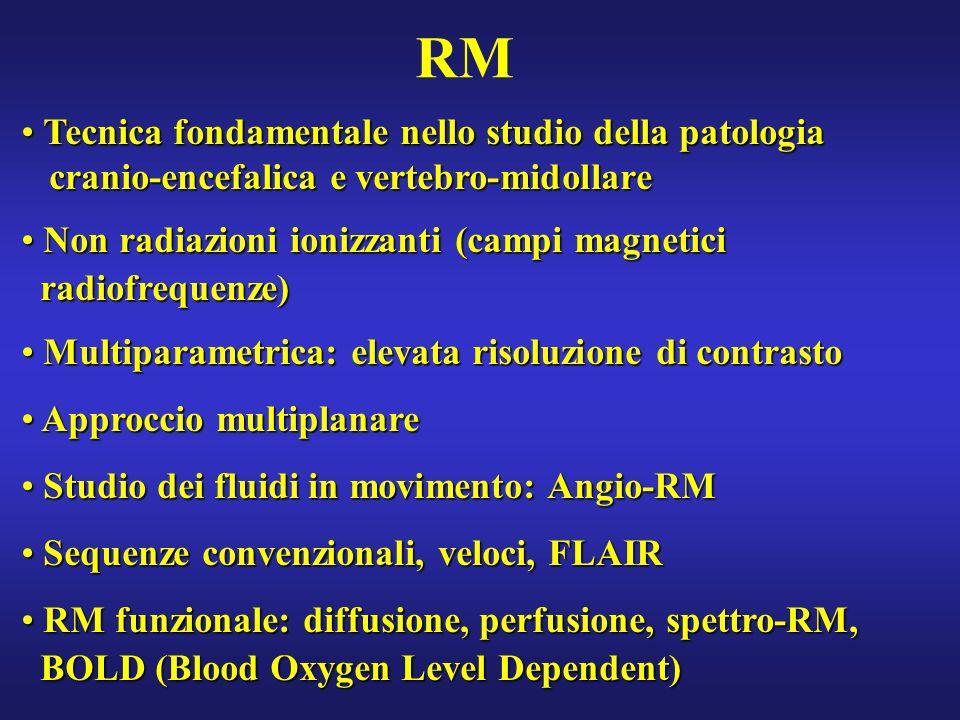 RM Tecnica fondamentale nello studio della patologia