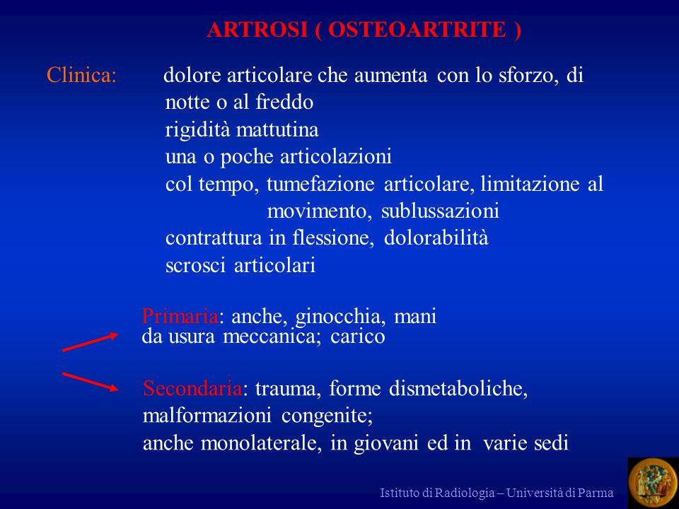 ARTROSI ( OSTEOARTRITE )