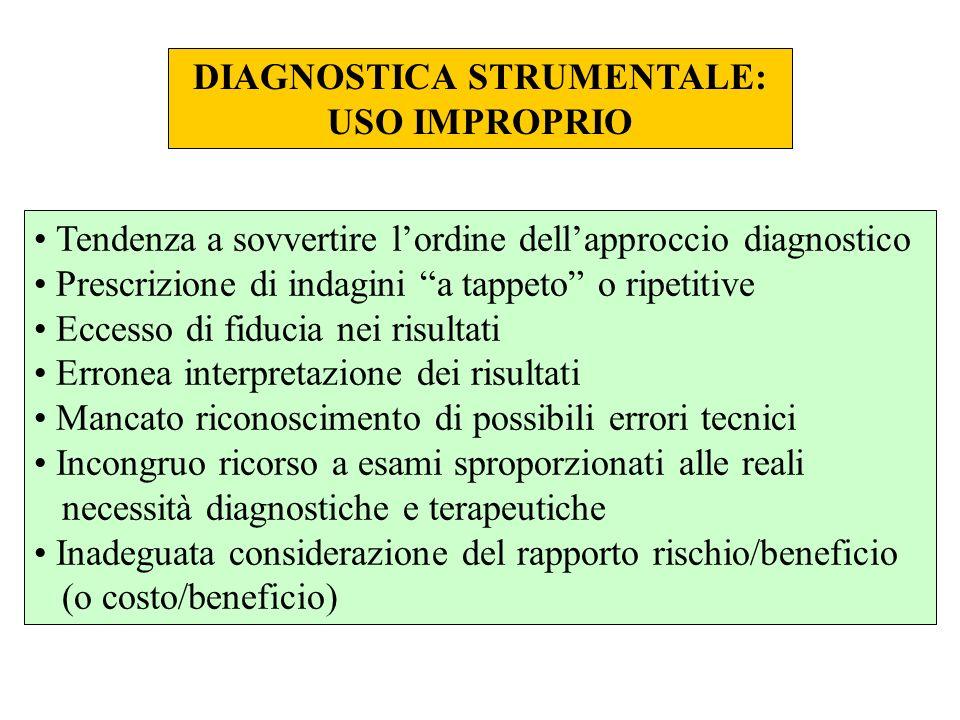 DIAGNOSTICA STRUMENTALE:
