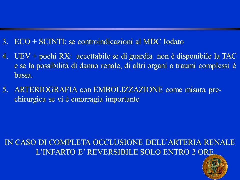 ECO + SCINTI: se controindicazioni al MDC Iodato