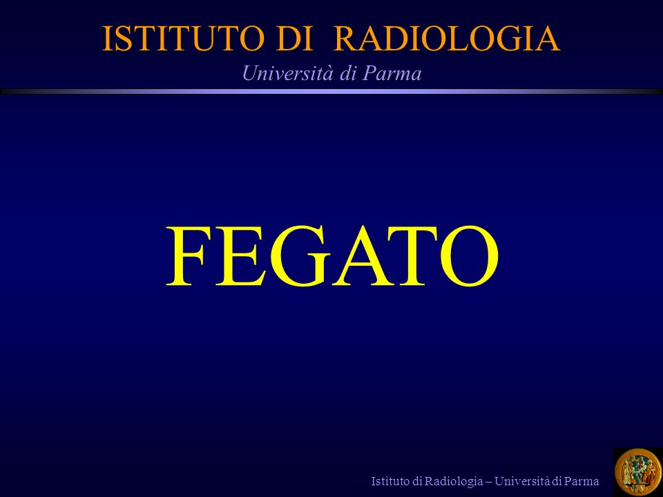 ISTITUTO DI RADIOLOGIA