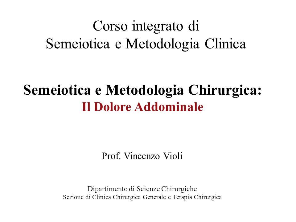 Semeiotica e Metodologia Clinica