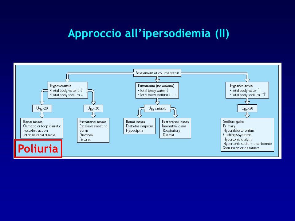 Approccio all'ipersodiemia (II)
