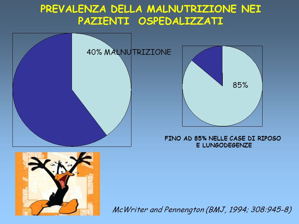 PREVALENZA DELLA MALNUTRIZIONE NEI PAZIENTI OSPEDALIZZATI