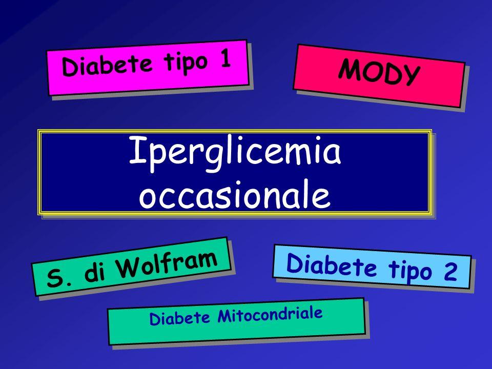 Iperglicemia occasionale