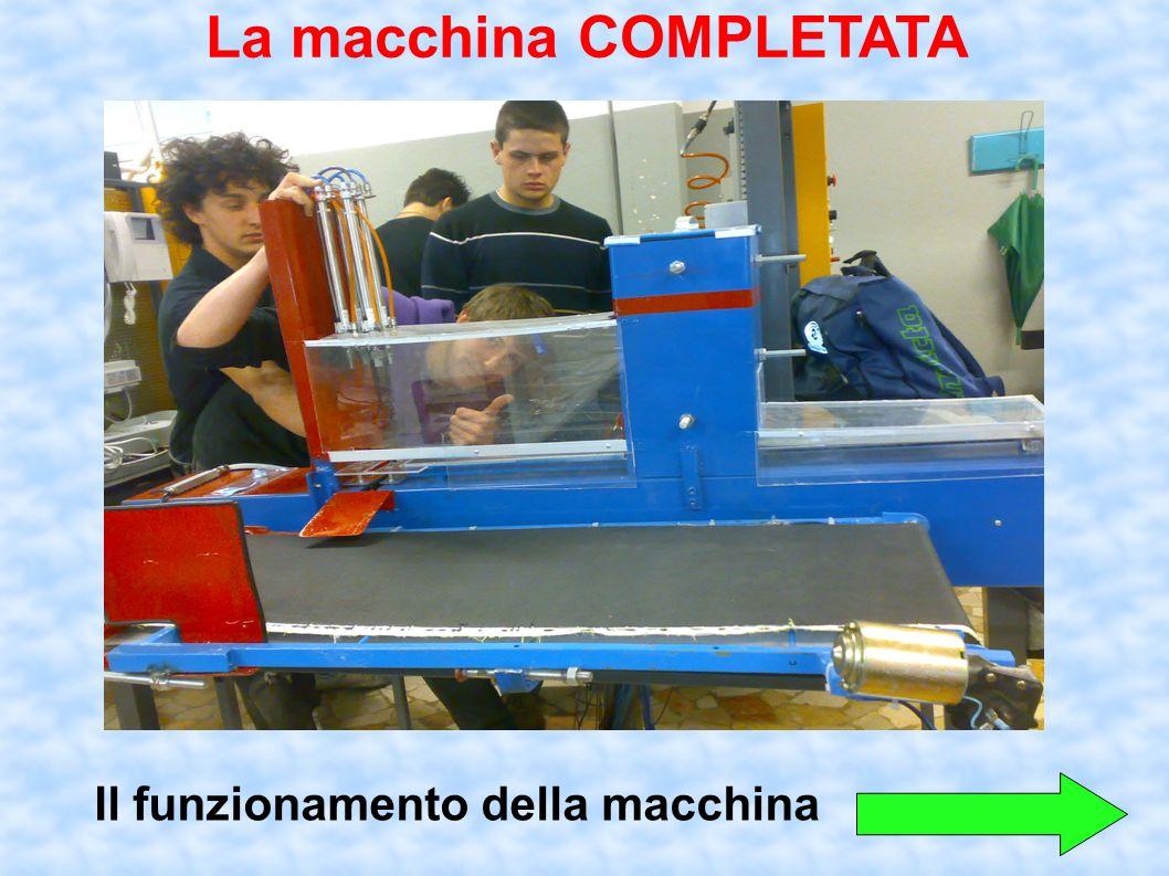 La macchina COMPLETATA