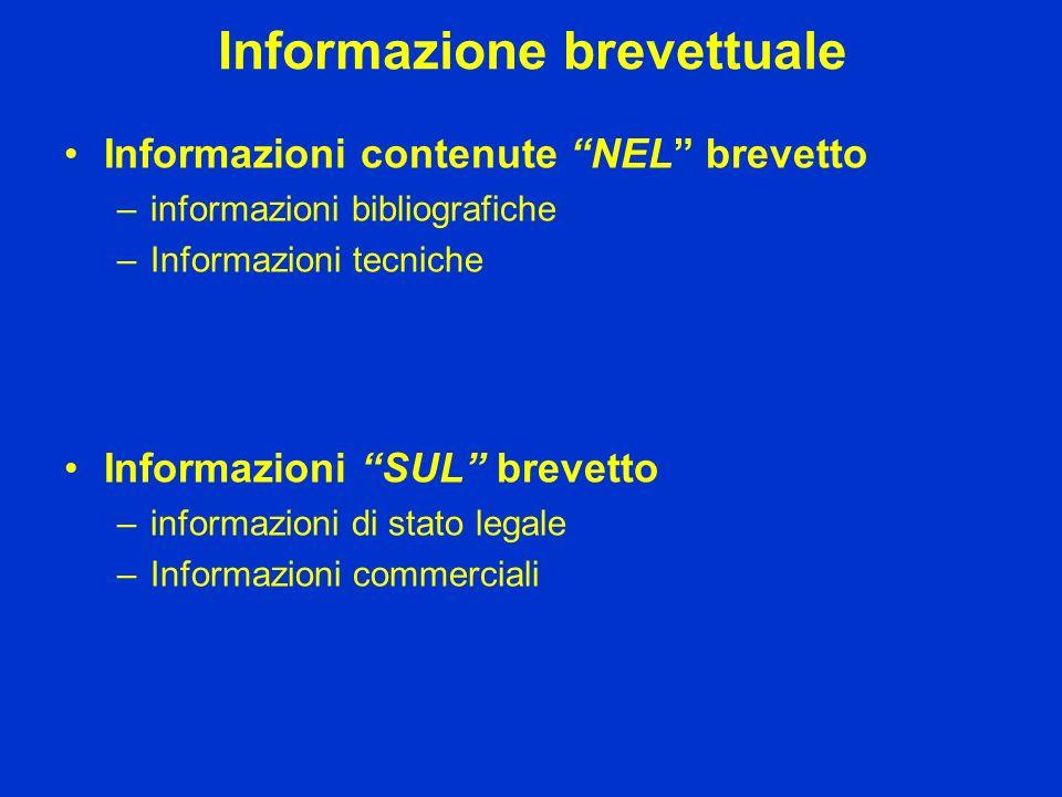 Informazione brevettuale